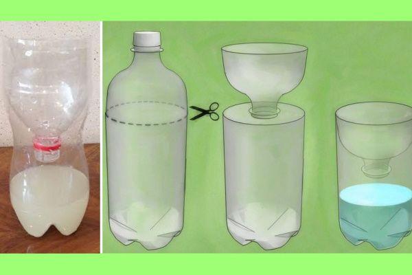 Ловушка из бутылки