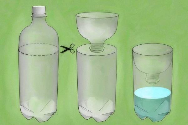 Ловушки из бутылок